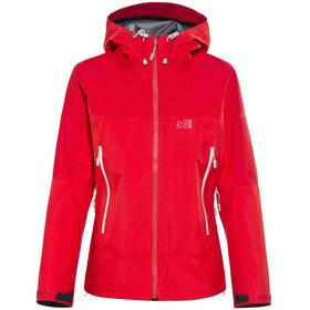 Millet W's LD Jungfrau GTX Jacket Rouge/Silver